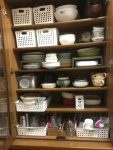 食器棚事例